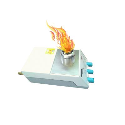 Mechero para gas de encendido electrónico para laboratorio