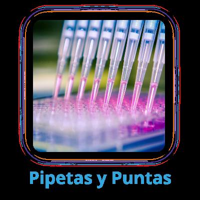 Pipetas y puntas productos para laboratorio