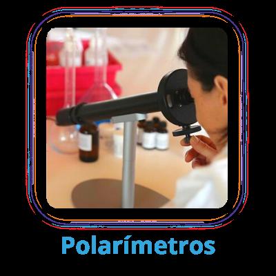 Polarímetros equipo para laboratorio