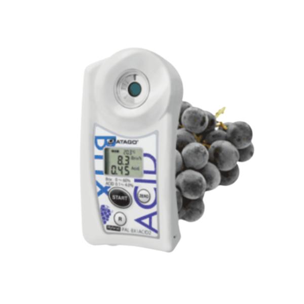 Refractómetro para medir el Vino tinto y blanco